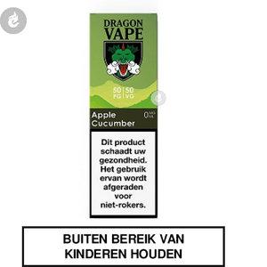 dragon vape e-liquid 50pg 50vg apple cucumber 0mg nicotinevrij.jpg