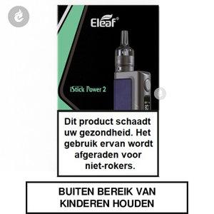 eleaf istick power 2 e-sigaret e-smoker vape 2ml 5000mah blue blauw.jpg