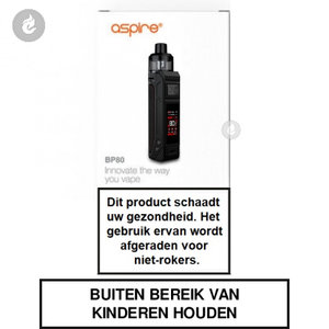 aspire bp80 e-sigaret e-smoker starterkit 80watt 2500mah mod pod charcoal black - Red Stitches.jpg