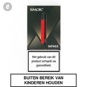 smok infinix e-sigaret pod starterskit gunmetal