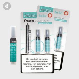 zensations refill cartridge navulling menthol 12mg nicotine