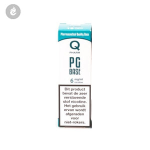 qpharm base e-liquid 100% PG 6mg nicotine