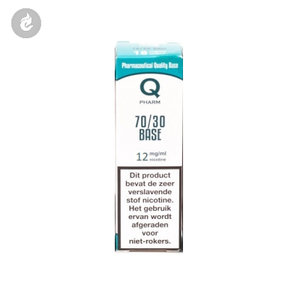 qpharm base e-liquid 70% PG - 30% VG 12mg nicotine