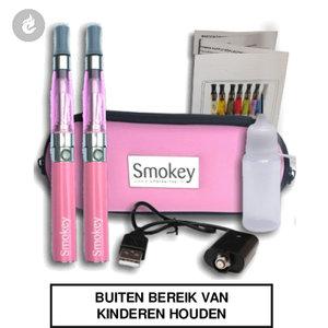 e-sigaret ego ce4 dubbel roze