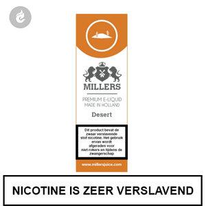 millers juice silverline desert 3mg nicotine