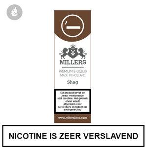 millers juice silverline shag 3mg nicotine