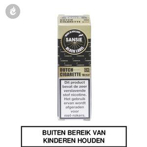 sansie vape e-liquid black label dutch cigarette nicotinevrij