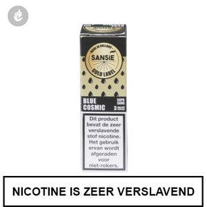 sansie vape e-liquid gold label blue cosmic 6mg nicotine