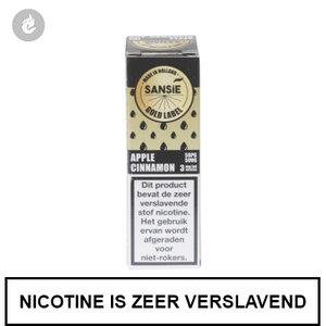 sansie vape e-liquid gold label apple cinnamon 12mg nicotine