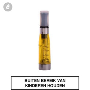 ego smokey ce4 clearomizer 2.0ohm 1.6ml geel