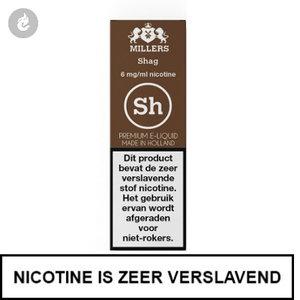 millers e-liquid silverline shag 3mg nicotine