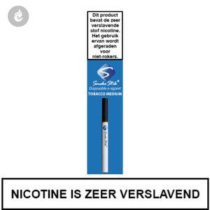 smokestik wegwerp disposable e-sigaret shishapen tobacco medium tabak 12mg
