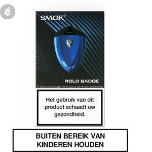 smok rolo badge pods e-sigaret e-smoker starterskit 2ml 250mah prism blue blauw