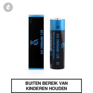 joyetech avatar rechargable oplaadbare AA Ni-MH battery 2000mAh