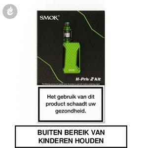 smok h-priv 2 e-sigaret starterskit 225watt e-smoker green groen