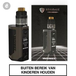 wismec reuleaux rx gen3 e-sigaret starterskit e-smoker 300watt 2ml bruin