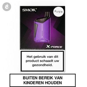smok x-force aio e-sigaret starterkit 2000mah 2ml paars