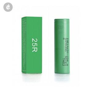 Samsung 25R 18650 Batterij 2500mAh 20ampere