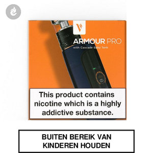 Vaporesso Armour Pro e-sigaret e-smoker Starterset 2ML midnight blue