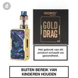 voopoo gold drag 157 watt e-sigaret e-smoker starterskit 2ml turquoise