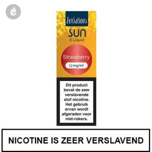 zensations sun e-liquid 40pg 60vg 10ml strawberry 12mg