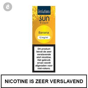zensations sun e-liquid 40pg 60vg 10ml banana 12mg