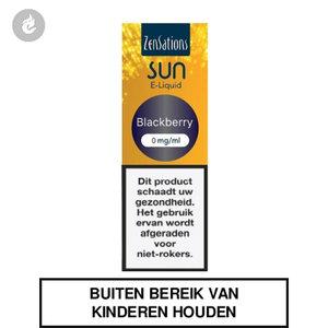 zensations sun e-liquid 40pg 60vg 10ml blackberry 0mg