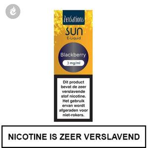 zensations sun e-liquid 40pg 60vg 10ml blackberry 3mg