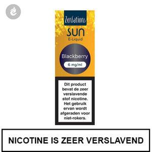 zensations sun e-liquid 40pg 60vg 10ml blackberry 6mg
