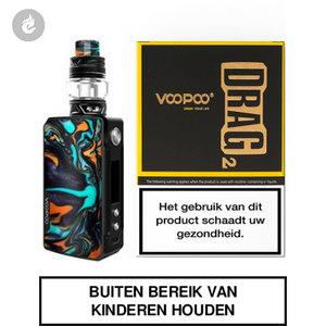 voopoo drag 2 e-sigaret 2ml e-smoker starterskit 177watt dawn