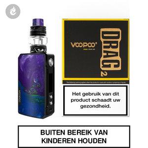 voopoo drag 2 e-sigaret 2ml e-smoker starterskit 177watt puzzle