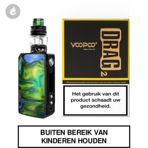 voopoo drag 2 e-sigaret 2ml e-smoker starterskit 177watt island