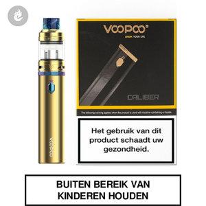 voopoo caliber e-sigaret 1.8ml e-smoker 3000mah starterskit goud