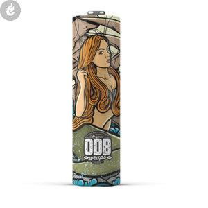 ODB 20700 batterij wraps mermaid