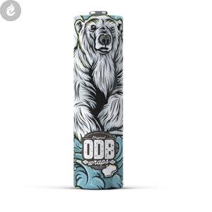ODB 21700 batterij wraps polar