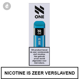 n-one 350mah disposable wegwerp pod e-sigaret ice mint 20mg nicotine 2ml.jpg
