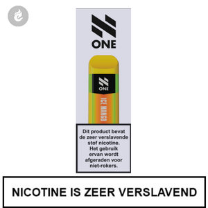 n-one 350mah disposable wegwerp pod e-sigaret ice mango 20mg nicotine 2ml.jpg