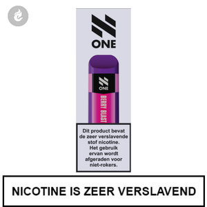 n-one 350mah disposable wegwerp pod e-sigaret berry blast 20mg nicotine 2ml.jpg