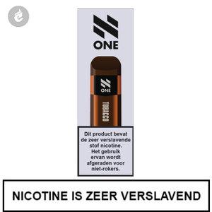 n-one 350mah disposable wegwerp pod e-sigaret tobacco 20mg nicotine 2ml.jpg