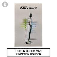 eleaf istick amnis e-sigaret startset 900mah 30watt 2ml grijs