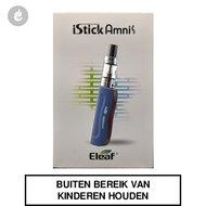 eleaf istick amnis e-sigaret startset 900mah 30watt 2ml blauw