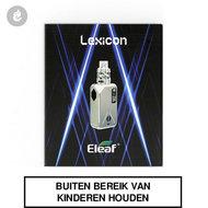eleaf lexicon e-sigaret e-smoker 235watt 2ml zilver