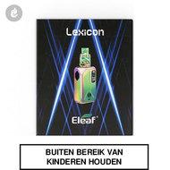 eleaf lexicon e-sigaret e-smoker 235watt 2ml rainbow regenboog 7 colors