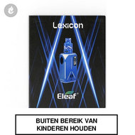 eleaf lexicon e-sigaret e-smoker 235watt 2ml blauw