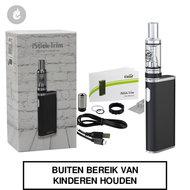 eleaf i-stick trim kit e-sigaret gsturbo 1800mah 25watt zwart