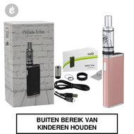 eleaf i-stick trim kit e-sigaret gsturbo 1800mah 25watt rosé goud