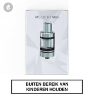 eleaf melo III 3 mini clearomizer tank 2ml rvs