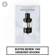eleaf melo III 3 mini clearomizer tank 2ml zwart
