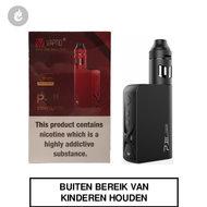 vaptio pIII p3 e-sigaret mod starterskit 100watt zwart