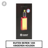 joyetech batpack e-sigaret starterskit rood goud aa batterij 8watt